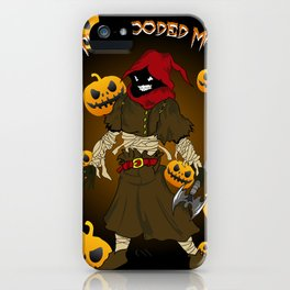 The Hooded Man iPhone Case