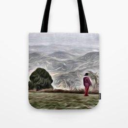 In Awe or Alone?. Tote Bag