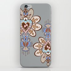 Flowering Heart iPhone & iPod Skin