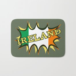 Ireland Patrick's day Bath Mat