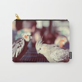 Parisian Budgies Carry-All Pouch