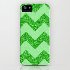 Chevron Jade Slim Case iPhone (5, 5s)