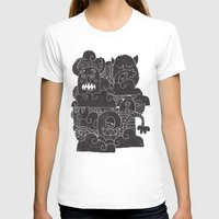 monsters T-shirts featuring MONSTERS by Matthew Taylor Wilson