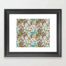 Fairy Tale Tapestry Framed Art Print