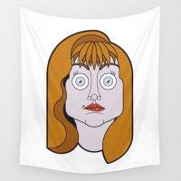 helen Wall Tapestries featuring Helen Sharp by mattiaBAUvegni