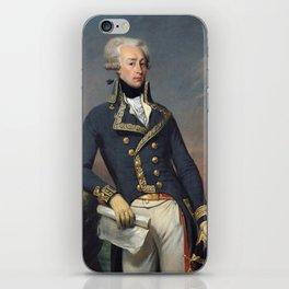 Portrait of Lafayette by Joseph désiré Court iPhone Skin