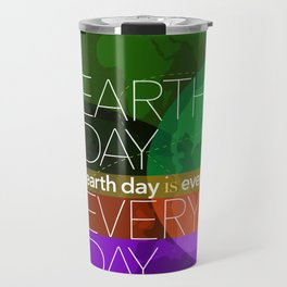 Earth Day Every Day_Robin Pickens Travel Mug