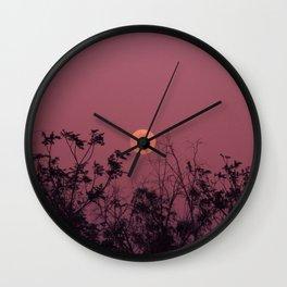 Morocco Magic Moon Wall Clock