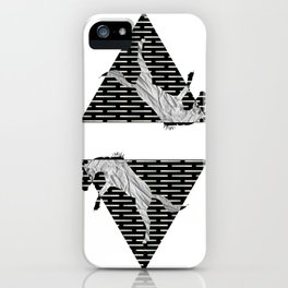 year of the horse: part 4 iPhone Case