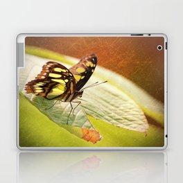 Butterfly - Ready for takeoff Laptop & iPad Skin