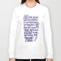 battlefield Long Sleeve T-shirts featuring Vlogbrothers- Thoughts From A Battlefield by deducktion