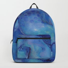 Blue happiness or when you feel blue but not sad Backpack