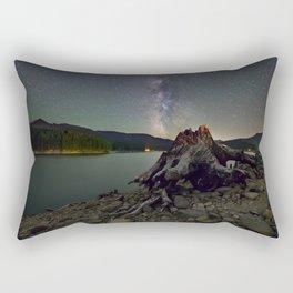 Detroit Lake Milky Way Rectangular Pillow