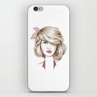 dorothy iPhone & iPod Skins featuring Dorothy by yulianzone