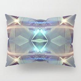 Abstract angular glow Pillow Sham