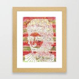 Bob Dylan #7 Framed Art Print