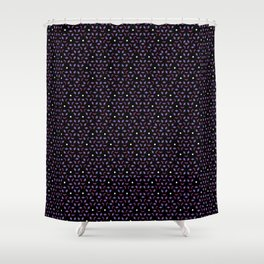 Cube Pattern 01 Shower Curtain