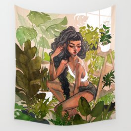 Greenhouse Wall Tapestry