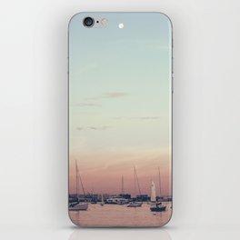 Sailing on the Boston Harbor iPhone Skin