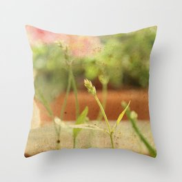 Anarchy in Planter Throw Pillow