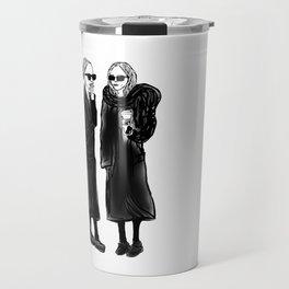 mary-kate n ashley 4 eva Travel Mug