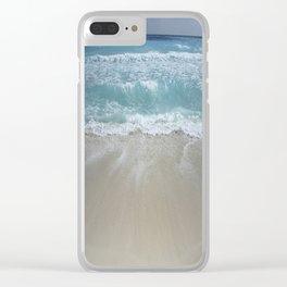 Carribean sea 5 Clear iPhone Case
