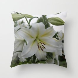Splendid Flower Throw Pillow