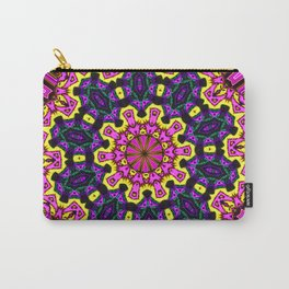 Abstract Paradise - Purple Arrow Carry-All Pouch