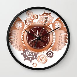 A Clockwork Wall Clock