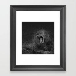 Sacred Lion Framed Art Print