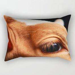 innocent eye Rectangular Pillow