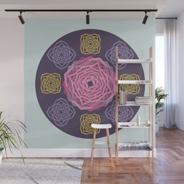 Roses composite  - Papercut Patterns Wall Mural