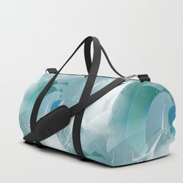 Abstract with hints of natural Duffle Bag