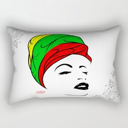 Lady Wrap Rectangular Pillow