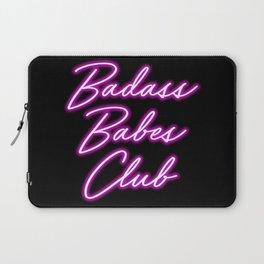 Badass Babes Club Laptop Sleeve