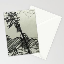 Charcoal sketch of Monterey Bay Stationery Cards
