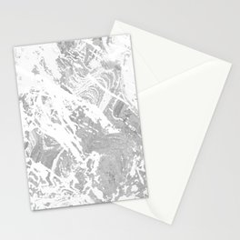 Scratched Marble Stationery Cards