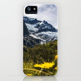 Flower Glacier iPhone Case
