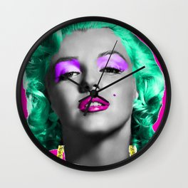 House of Munroe LOGO   Wall Clock