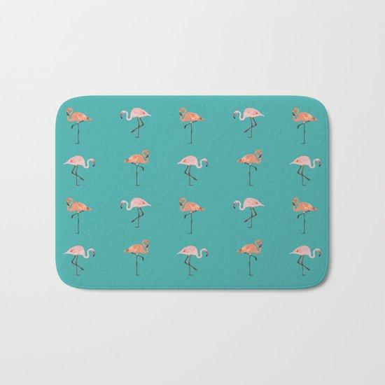 Flamingo Party Bath Mat