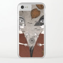 Ana and Eva (An All Hallows' Eve Tale) Clear iPhone Case
