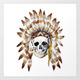 Skull 01 Art Print