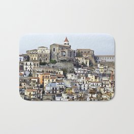 Urban Landscape - Cathedrale - Sicily - Italy Bath Mat