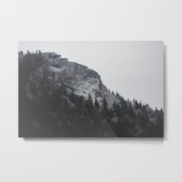 Devil's Courthouse Metal Print
