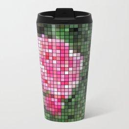 Pink Roses in Anzures 1 Mosaic Travel Mug