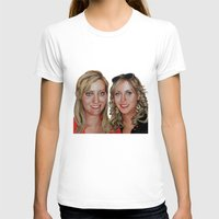 sisters T-shirts featuring Sisters by Saoirse Mc Dermott