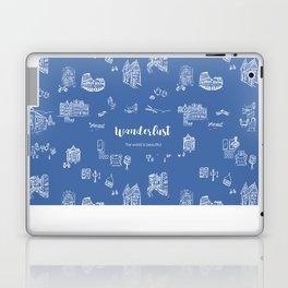 Wanderlust in Europe Laptop & iPad Skin