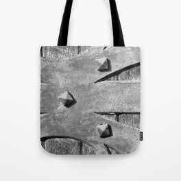 Hinges On The Cathedral Door Tote Bag