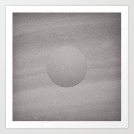 Voyage to the Moon Art Print