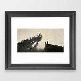 Grounded Framed Art Print
